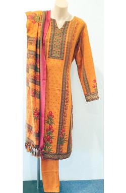 Semi Woollen Salwar Suit